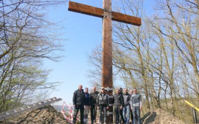 In Wehbach gibt es wieder ein Friedenskreuz